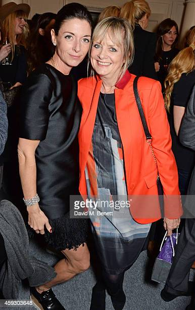 Mary McCartney and Twiggy attends the book launch and private view of 'Mary McCartney Monochrome And Colour' curated by De Pury De Pury on November...