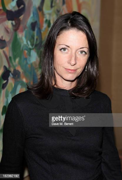 Mary McCartney attends a cocktail party hosted by new EditorinChief of Harper's Bazaar UK Justine Picardie Manolo Blahnik and Penelope Tree to...