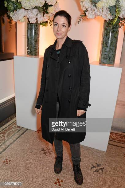 Mary McCartney attends a party celebrating Edward Enninful's one year anniversary as EditorinChief of British Vogue at The National Portrait Gallery...