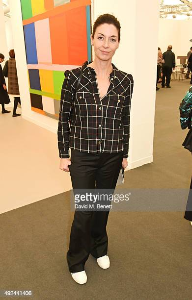 Mary McCartney attends a VIP preview of the Frieze Art Fair 2015 in Regent's Park on October 13 2015 in London England