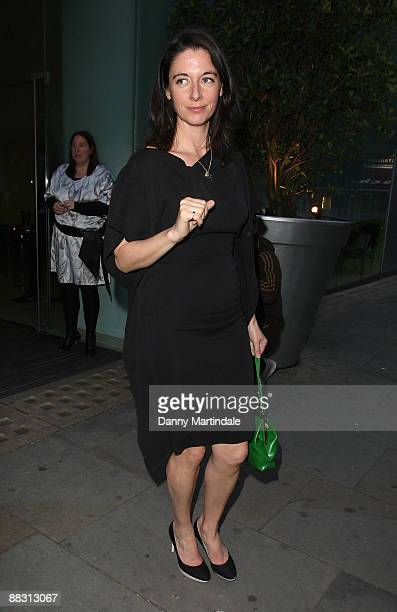 Mary McCartney attends Simon Aboud book launch party at the St Martins Lane Hotel on June 8 2009 in London England