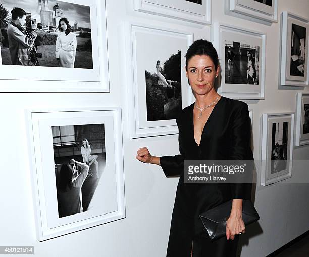 Mary McCartney attends the De Beers 'Moments In Light' A Collaboration With Mary McCartney To Celebrate Talented Women at Royal Academy of Arts on...