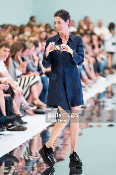 Mary McCartney attends the Hunter Original show during London Fashion Week Spring Summer 2015 at on September 13 2014 in London England