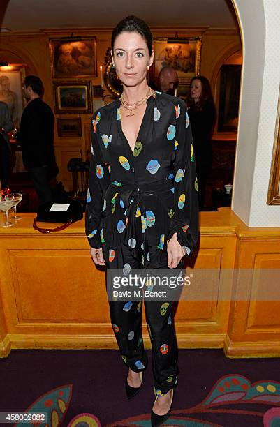 Mary McCartney attends the launch of Annabel's DocuFilm 'A String of Naked Lightbulbs' at Annabel's on October 28 2014 in London England