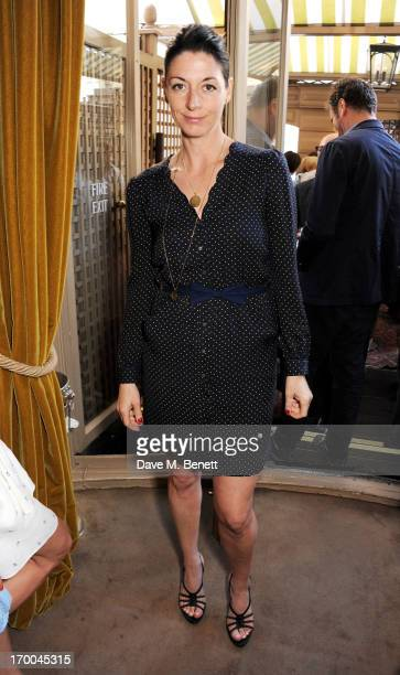 Mary McCartney attends the launch of 'The Eighties One Day One Decade' by GQ editor Dylan Jones at Mark's Club on June 6 2013 in London England