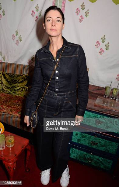 Mary McCartney attends the LOVE Magazine 10th birthday party with PerrierJouet at Loulou's on September 17 2018 in London England