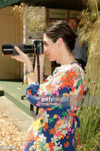 Mary McCartney attends the Press VIP preview at The Chelsea Flower Show at Royal Hospital Chelsea on May 23 2010 in London England