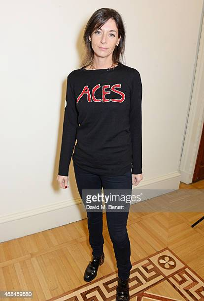 Mary McCartney attends the private view of 'Chris Stein/Negative Me Blondie and the Advent of Punk' at Somerset House on November 5 2014 in London...