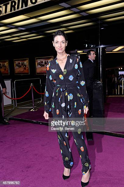 Mary McCartney attends the screening of the new Annabel's DocuFilm 'A String of Naked Lightbulbs' at The Curzon Mayfair on October 28 2014 in London...