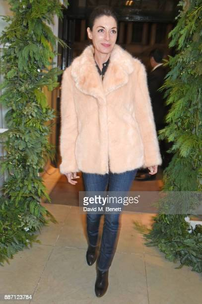 Mary McCartney attends the Stella McCartney Christmas Lights 2017 party on December 6 2017 in London England