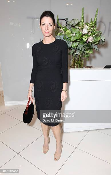 Mary McCartney attends the VIP preview of the Kate Moss For TopShop collection at the TopShop London Flagship store on April 29 2014 in London England