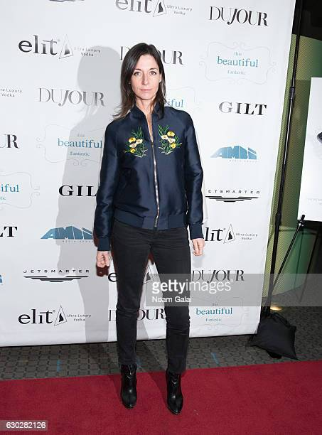Mary McCartney attends 'This Beautiful Fantastic' screening at SVA Theatre on December 19 2016 in New York City
