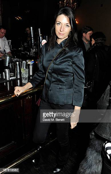 Mary McCartney attends #VauxhallPresents Made in England by Katy England screening hosted by Vauxhall Motors at The King's Head Private Members Club...