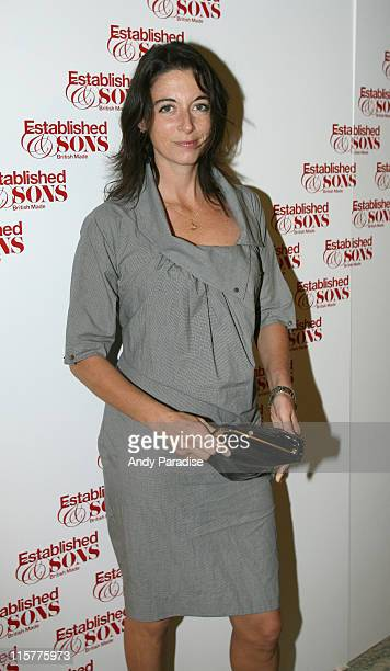 Mary McCartney during Established Sons First Birthday VIP Party Inside in London Great Britain