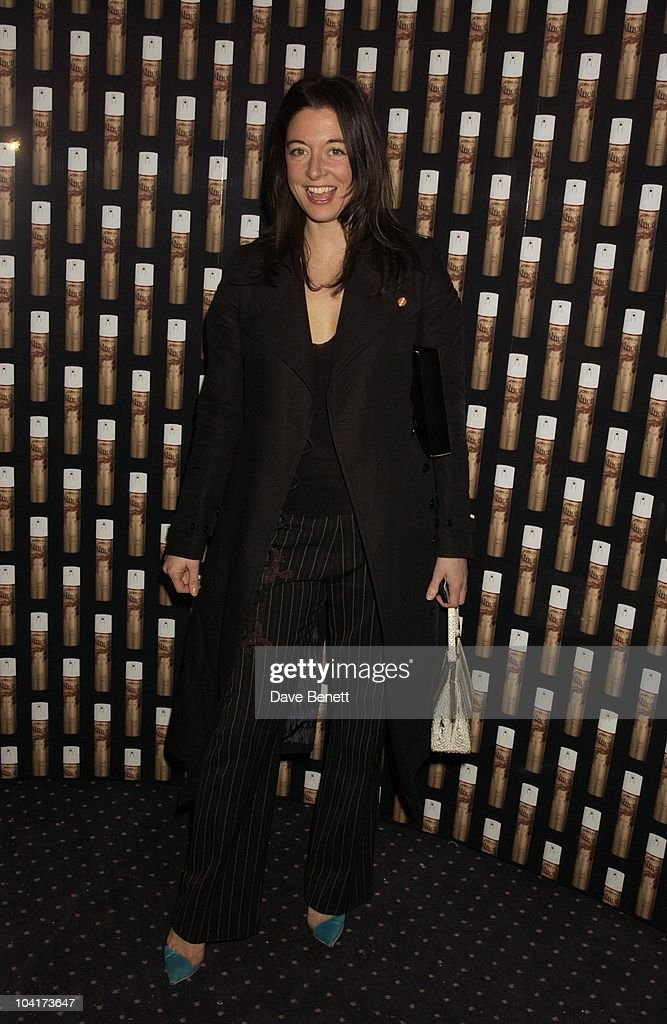 Mary Mccartney, Frost French Fashion Tea Party At Bafta Cinema In Picadilly,turned The Normal Fashion Show On Its Head As The Audience Was Treated To A Film Of The Designers New Collection, London Fashion Week 2003