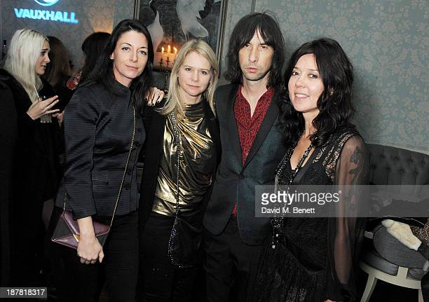 Mary McCartney Lee Starkey Bobby Gillespie and Katy England attend #VauxhallPresents Made in England by Katy England screening hosted by Vauxhall...