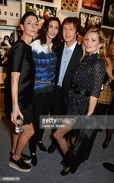 Mary McCartney Nancy Shevell Sir Paul McCartney and Kate Moss attend the book launch and private view of Mary McCartney Monochrome And Colour curated...