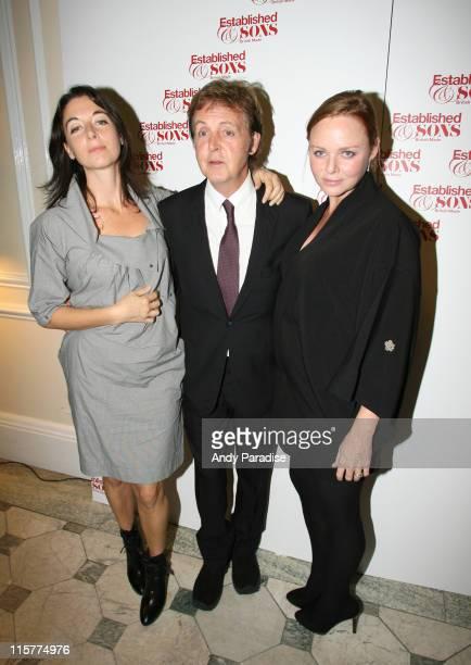 Mary McCartney Paul McCartney and Stella McCartney