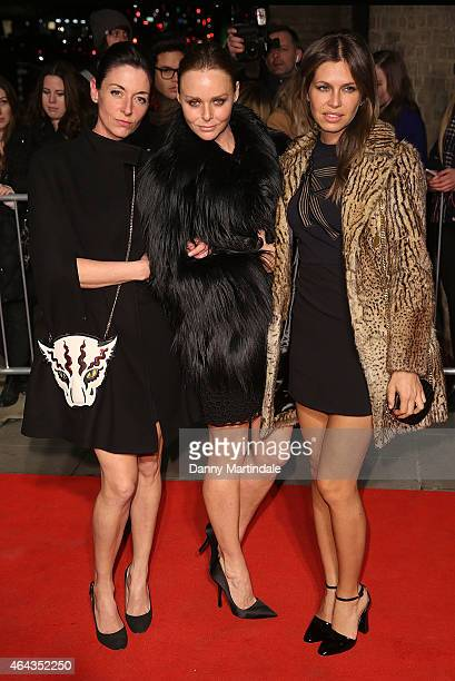 Mary McCartney Stella McCartney and Daria Zhukova during the Naked Heart Foundation's World's First Fabulous Fund Fair at The Roundhouse on February...