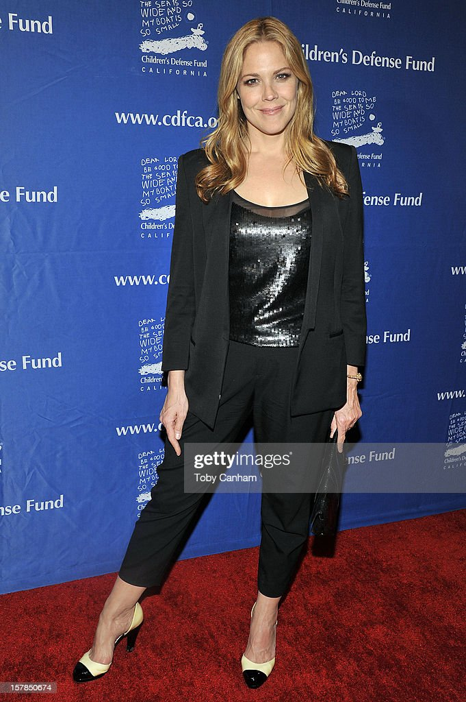 Mary McCormack arrives for the Children's Defense Fund-California 22nd Annual 'Beat the Odds' Awards at Beverly Hills Hotel on December 6, 2012 in Beverly Hills, California.
