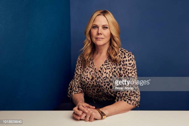 Mary McCormack of ABC's 'The Kids Are Alright' poses for a portrait during the 2018 Summer Television Critics Association Press Tour at The Beverly...