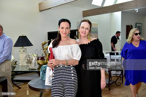 Mary McDonald and Gigi Mahon attend Animal Rescue Fund of the Hamptons 6th Annual Thrift Shop Designer Showhouse at ARF Thrift Treasure Shop on May...