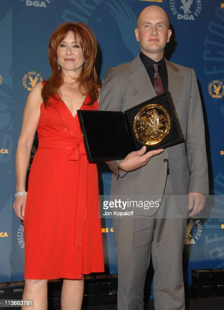 Mary McDonnell and Dante Ariola winner of Outstanding Directorial Achievement in Commercials