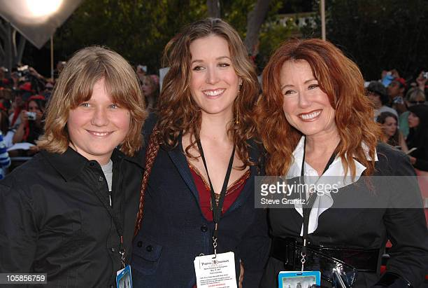 Mary McDonnell and guests during 'Pirates of the Caribbean At World's End' World Premiere Arrivals at Disneyland in Anaheim California United States