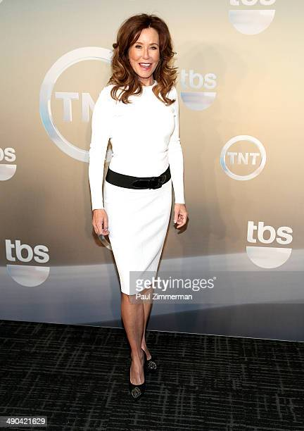 Mary McDonnell attends the 2014 TNT/TBS Upfront at The Theater at Madison Square Garden on May 14 2014 in New York City
