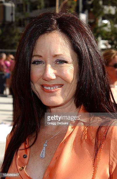 Mary McDonnell during 2002 Creative Arts Emmy Awards Arrivals at Shrine Auditorium in Los Angeles California United States