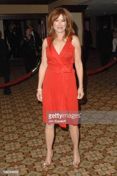 Mary McDonnell during 59th Annual Directors Guild of America Awards Arrivals at Hyatt Regency Century Plaza in Los Angeles California United States