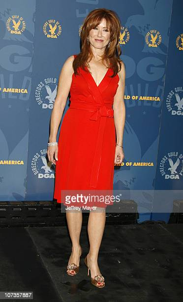 Mary McDonnell during 59th Annual Directors Guild of America Awards Press Room at Hyatt Regency Century Plaza in Century City California United States