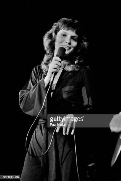 Mary McGregor singing at the Ivanhoe Theater in Chicago Illinois May 6 1977