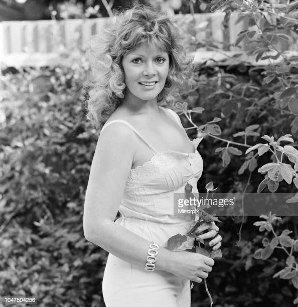 Mary Millington actress and model in the adult porn industry she also owns a sex shop and cinema pictured at home in Putney South West London...