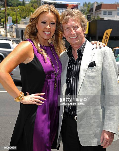Mary Murphy and Nigel Lythgoe present So You Think You Can Dance Live Action Billboard Celebration on June 14 2011 in Los Angeles California