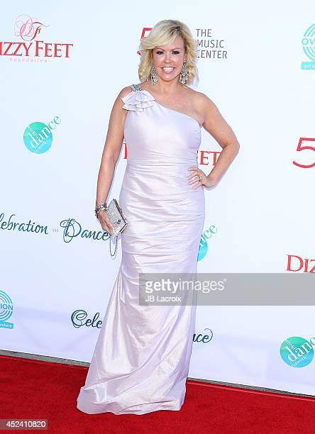 Mary Murphy attends the 4th Annual Celebration Of Dance Gala Presented By The Dizzy Feet Foundation at Dorothy Chandler Pavilion on July 19 2014 in...