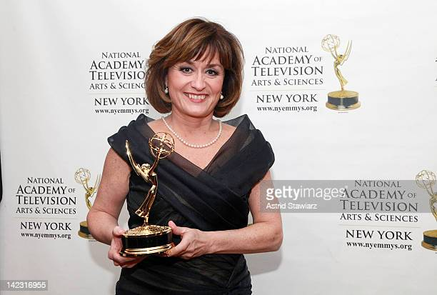 Mary Murphy attends the 55th Annual New York Emmy Awards gala at the Marriott Marquis Times Square on April 1 2012 in New York City