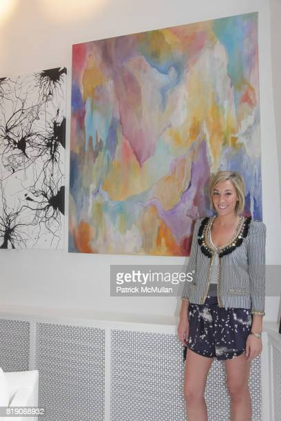 Mary Nelson Sinclair attends PYT Pretty Young Thing cocurated by Anne Huntington Diana Campbell at 833 Broadway on May 22 2010 in New York City