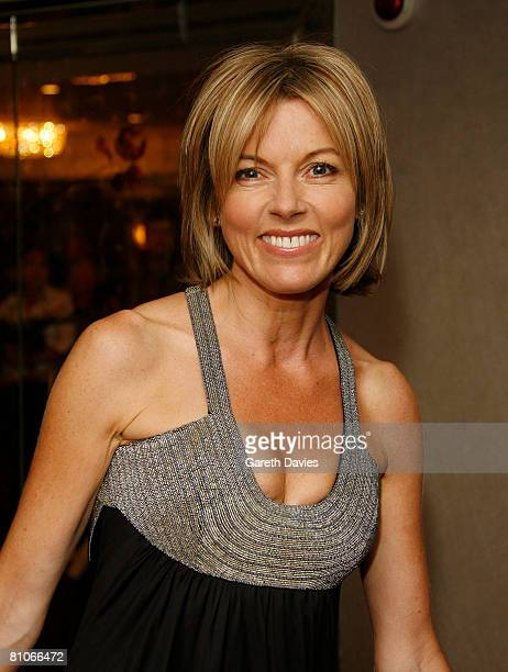 Mary Nightingale arrives at the Sony Radio Academy Awards at the Grosvenor House Hotel on May 12 2008 in London England