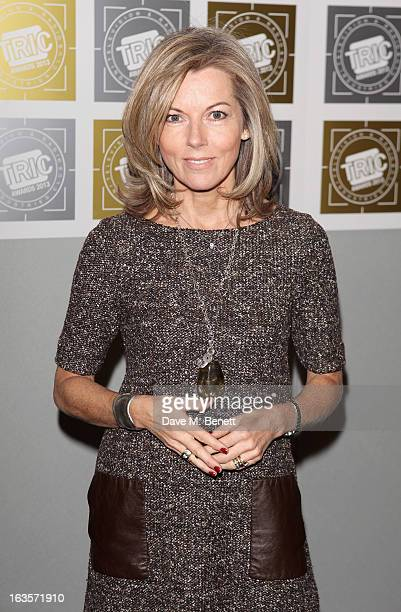 Mary Nightingale arrives at the TRIC Television and Radio Industries Club Awards at The Grosvenor House Hotel on March 12 2013 in London England