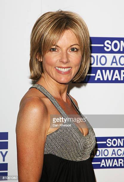 Mary Nightingale arrives for the Sony Radio Academy Awards at Grosvenor House on May 12 2008 in London England