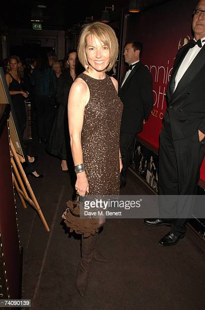 Mary Nightingale attends a concert by American singing legend Tony Bennett in aid of The Old Vic theatre on May 6 2007 at London's jazz venue Ronnie...