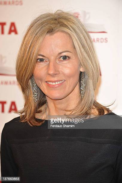 Mary Nightingale attends the 2011 Costa Book Award at Quaglino's on January 24 2012 in London England