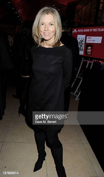 Mary Nightingale attends the 2011 Costa Book Awards at Quaglino's on January 24 2012 in London England