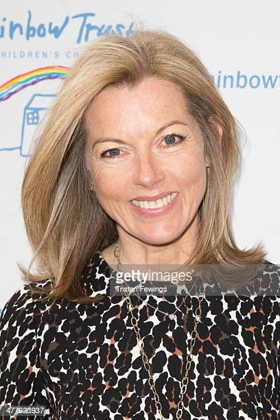 Mary Nightingale attends the Trust In Fashion Fundraiser in aid of The Rainbow Trust at The Savoy Hotel on March 10 2014 in London England