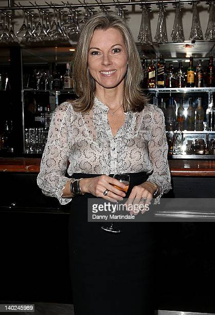 Mary Nightingale attends The Ultimate News Quiz in aid of Action for Children Restless Development and Rory Peck Trust at Quaglino's on March 1 2012...