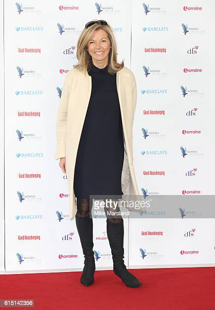 Mary Nightingale attends the Women of the Year Awards 2016 at InterContinental Park Lane Hotel on October 17 2016 in London England