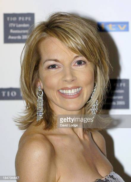 Mary Nightingale during The Tio Pepe/ITV London Restaurant Awards 2005 in London Great Britain