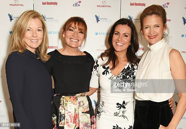 Mary Nightingale Lorraine Kelly Susanna Reid and Katie Derham attend The 61st Women of the Year lunch and awards 2016 at InterContinental Park Lane...