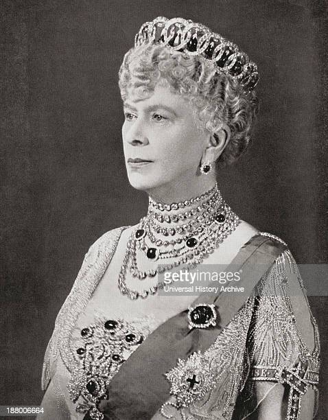 Mary Of Teck 1867 –1953 Queen Consort As Wife Of George V From The Coronation Of Their Majesties King George Vi And Queen Elizabeth Official Souvenir...
